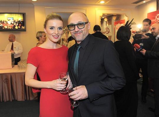 Lešek Wronka s přítelkyní Halinou