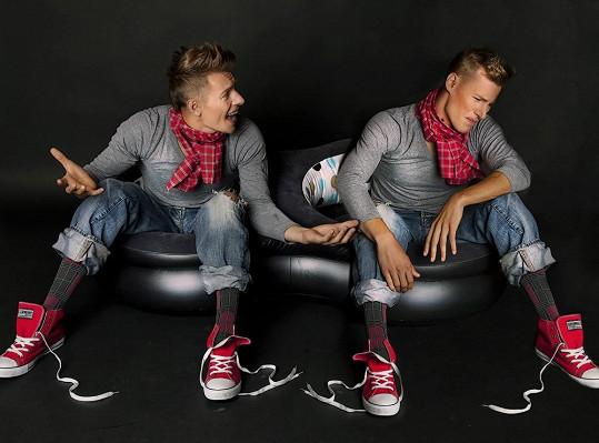 Thomas není jen model a zpěvák, ale i herec.