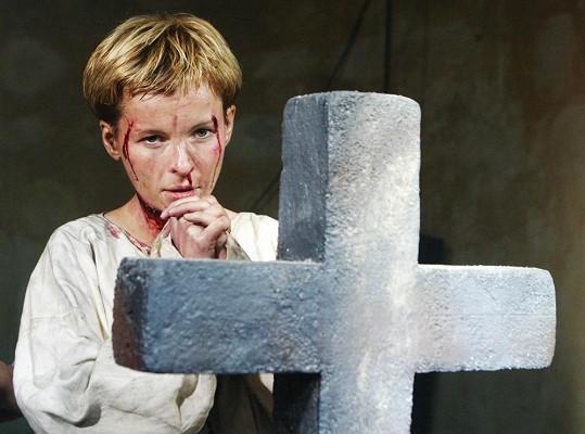 Jako Johanka z Arku odehrála jen 11 představení.