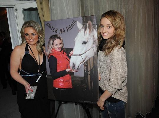 Kateřina s dcerou Jessicou.