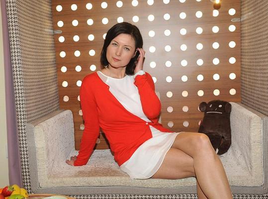 Simona Chytrová má i po padesátce postavu jako ze žurnálu.