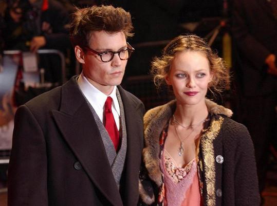 Paradis a Depp spolu žili 14 let.