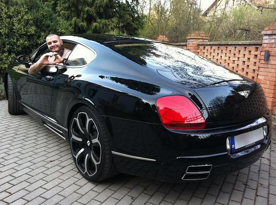 Vrbovský si rád dopřává luxusu.