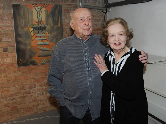 Kmotrem výstavy byl Blančin kolega Stanislav Zindulka.