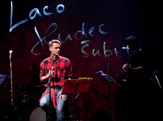 Laco Hudec Šubrt na narozeninovém koncertě