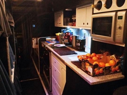 Tak vypadala kuchyně.