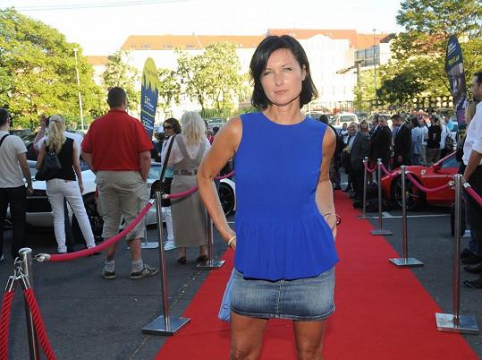 Simona na karlovarském filmovém festivalu