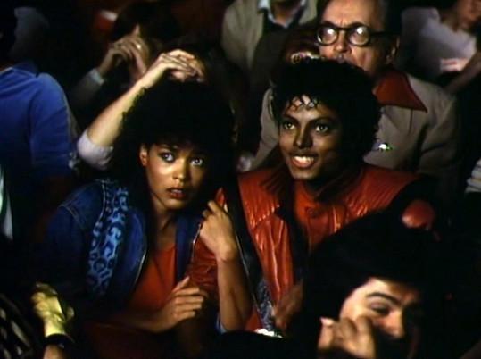 Michael Jackson s Olou v Thrilleru