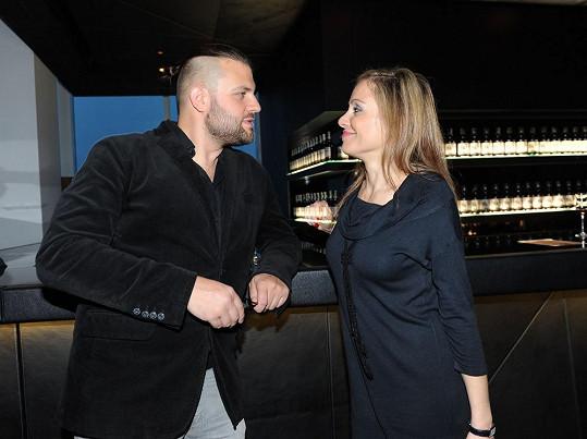 Lucia s manželem Petrem Svobodou