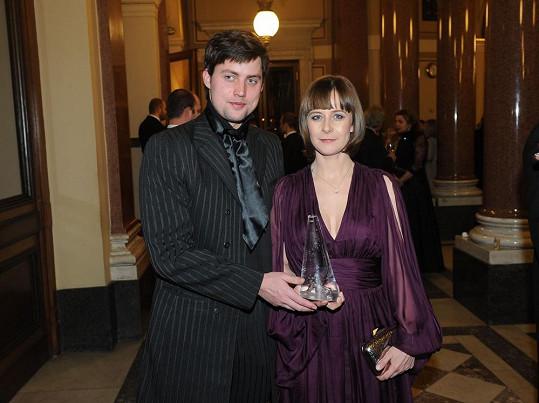 S manželem Mílou Tichým.