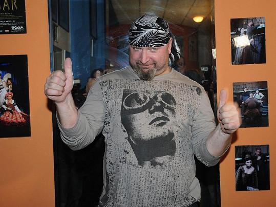Jiří Zonyga se za šest let od soutěže moc nezměnil.