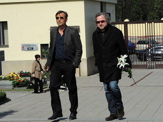 Jiří Macháček a Jan Hřebejk