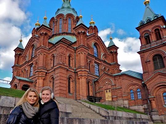 Sandra s Adélou v Tampere
