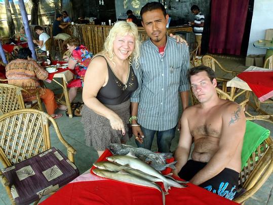 S oblíbeným Indem a synem Krasoňem