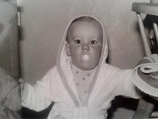 Malý Foret byl rozkošné dítko.