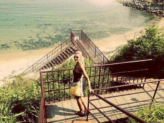 Dara byla krásami Bulharska zaskočená i potěšená.