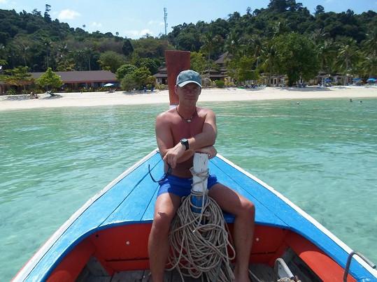 Zdeněk Style Hrubý u ostrova Phi Phi.