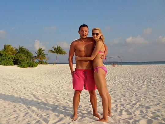 Sandra Parmová a Michal Janotka velmi rádi a často vyrážejí k moři.