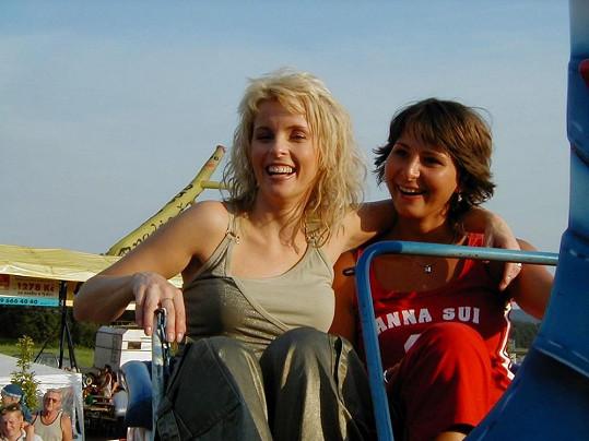 Takhle Iveta a Ivana vypadaly před devíti lety.
