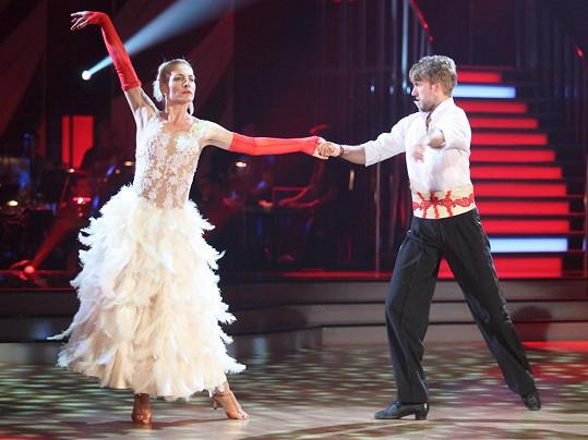 Anna Polívková a Michal Kurtiš zatančili vášnivé paso doble.