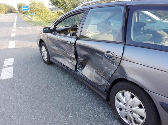 Martin Maxa měl autonehodu.