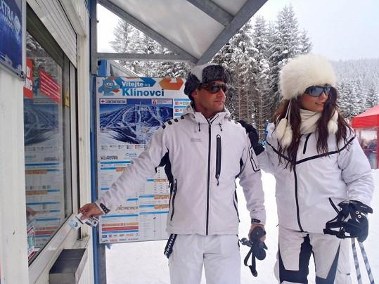 Většina jezdí do Špindlu, ale Michal a Lenkou jsou výjimkou.