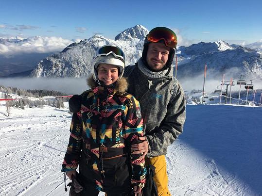 Patricie s přítelem Tiborem