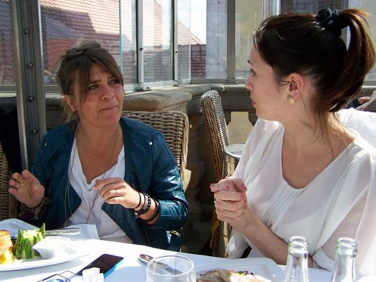 Tereza Kostková s Carole Greep si měly o čem povídat.