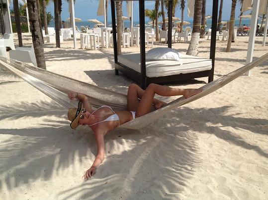 Dominika Mesarošová si užívá dovolenou v Mexiku.