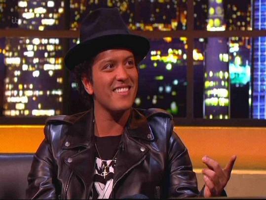 Bruno Mars dnes.