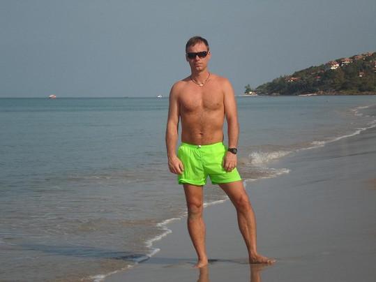 Zdeněk Style Hrubý má ve svých 41 letech skvělou postavu.