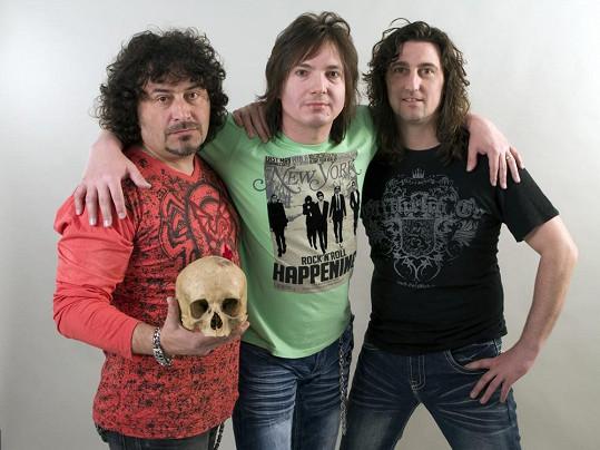 Maťo Ďurinda z Tublatanky (uprostřed) vypadá pořád velmi mladě.
