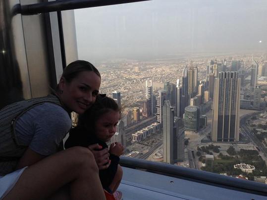 A také nádherný výhled z mrakodrapu.