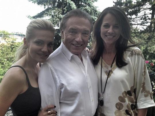 Dara Rolins, Karel Gott a hvězda rakouské televize Vera Russwurm