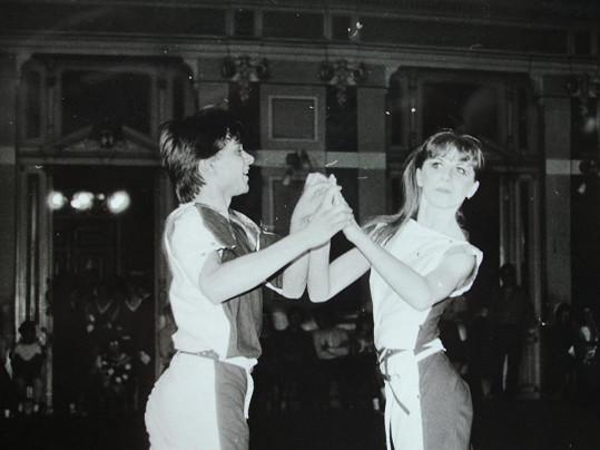 Tanhle taneční pár vyhrál mistrovství Československa v disko tancích.