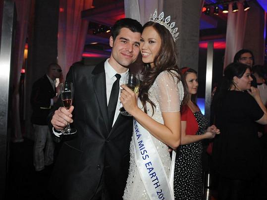 Monika Leová chodí s přítelem Martinem už tři roky.