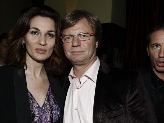 Maroš Kramár s manželkou Natašou Nikitinovou