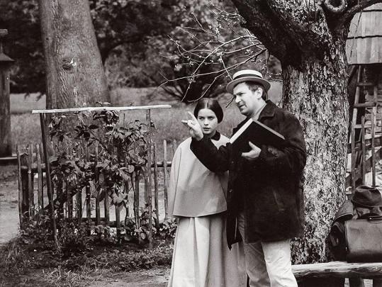 Libuše Šafránková s režisérem Antonínem Moskalykem
