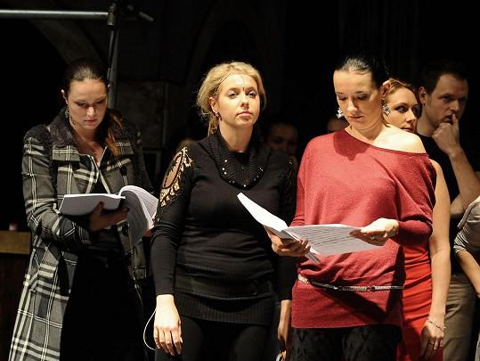 Markéta Mátlová na castingu