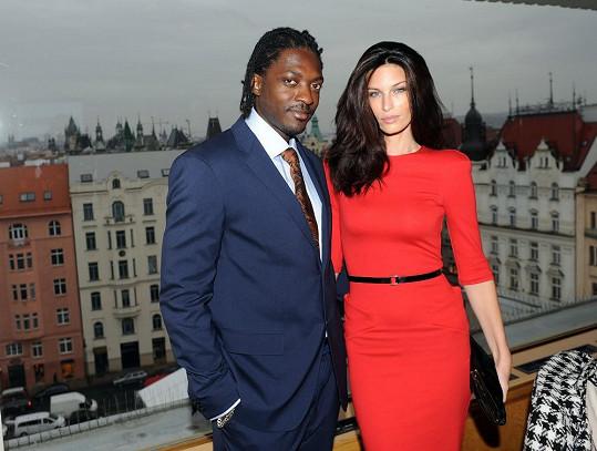 Viera Schottertová s manželem Souleymanem, který pochází z Pobřeží slonoviny.