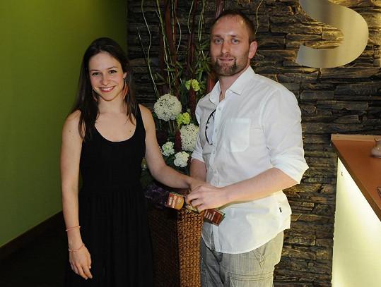Veronika a Pavel se znají už pět let, ale jiskra mezi nimi přeskočila teprve před třemi měsíci.