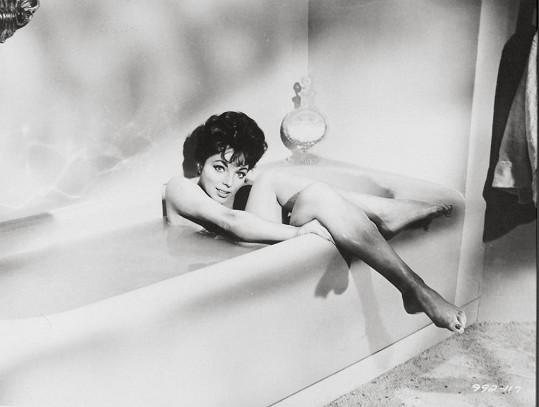 Joan Collins v roce 1958.