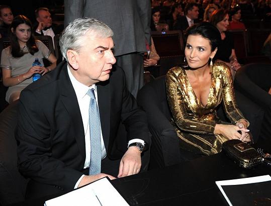 Přítomnosti Miroslava Donutila si Míša velmi vážila. Vždyť se herec postaral o to, aby se Maláčová před lety stala královnou krásy.