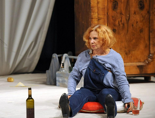 Kamila Magálová se zranila při natáčení filmu Hmyz.