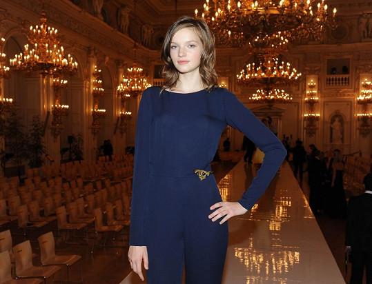 Takhle Eva vypadala, když v září vyhrála Schwarzkopf Elite Model Look.