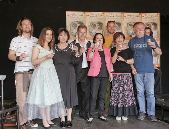 Oficiální představení muzikálu a křest proběhl na Letní scéně Divadla Ungelt.