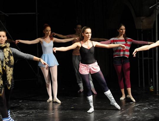 Andrea na konkurzu Fantoma opery