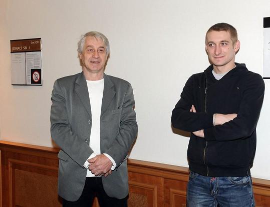 Josef Rychtář se synem