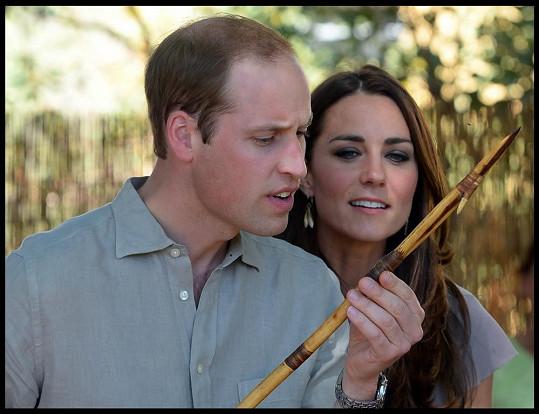 William s Kate jsou na své cestě po Austrálii zvídaví.