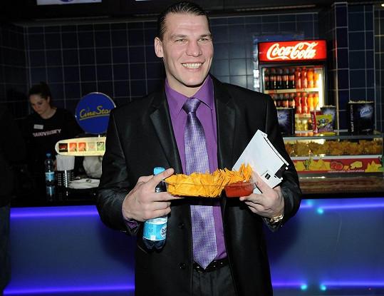 Kickboxer Petr Vondráček zažívá krváky nejen ve filmech, ale i na svých zápasech.